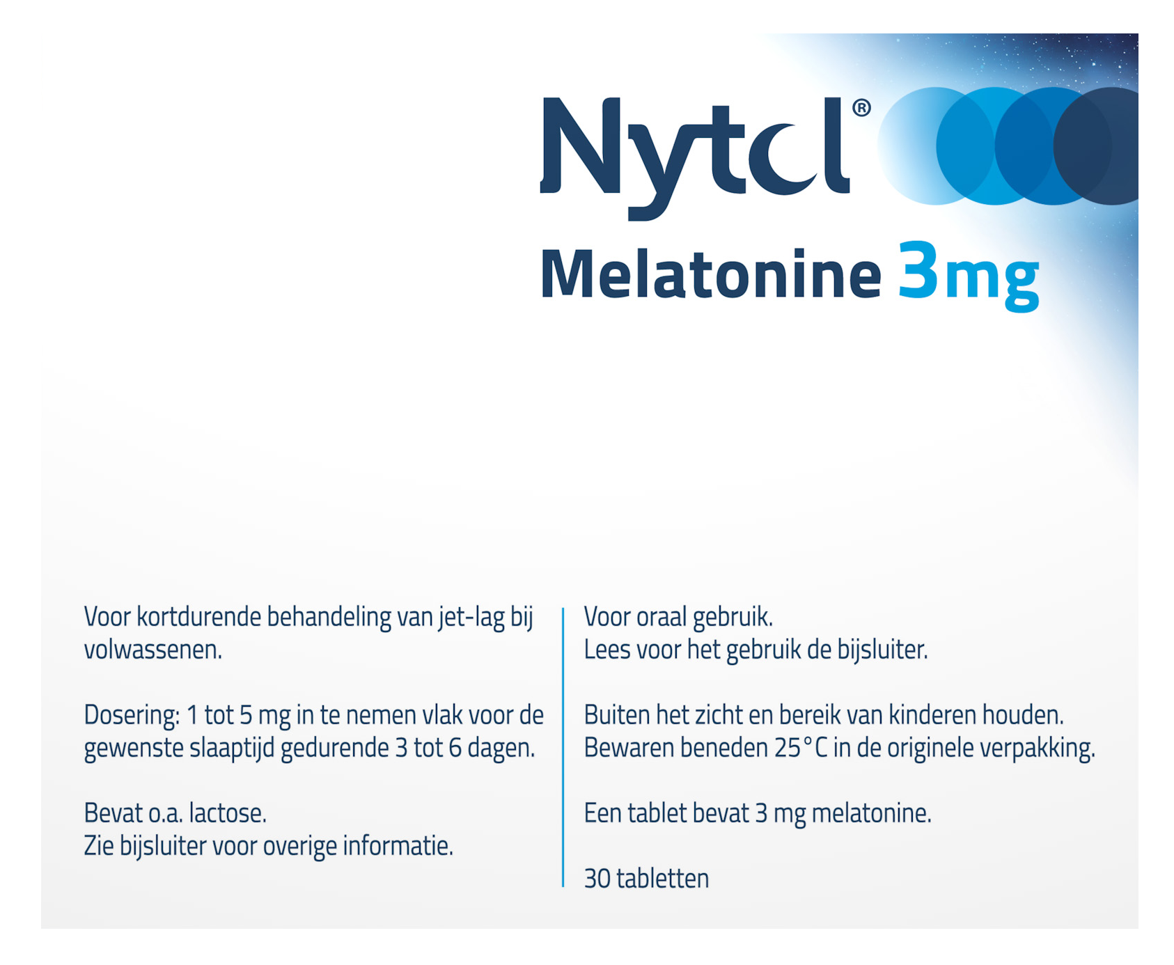 Nytol Melatonine 3mg