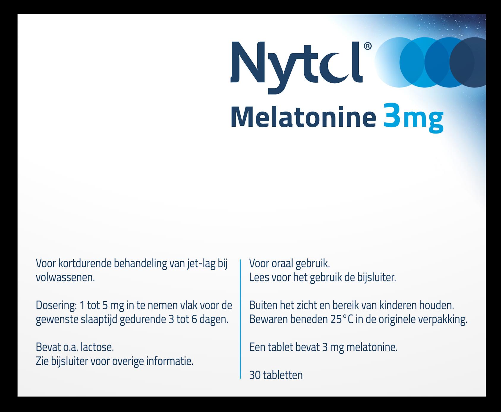 Nytol Melatonine 3mg