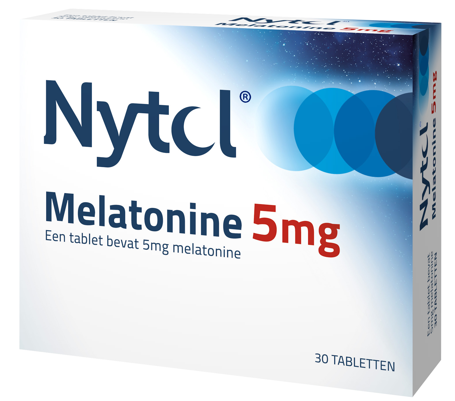 Nytol Melatonine 5mg blister