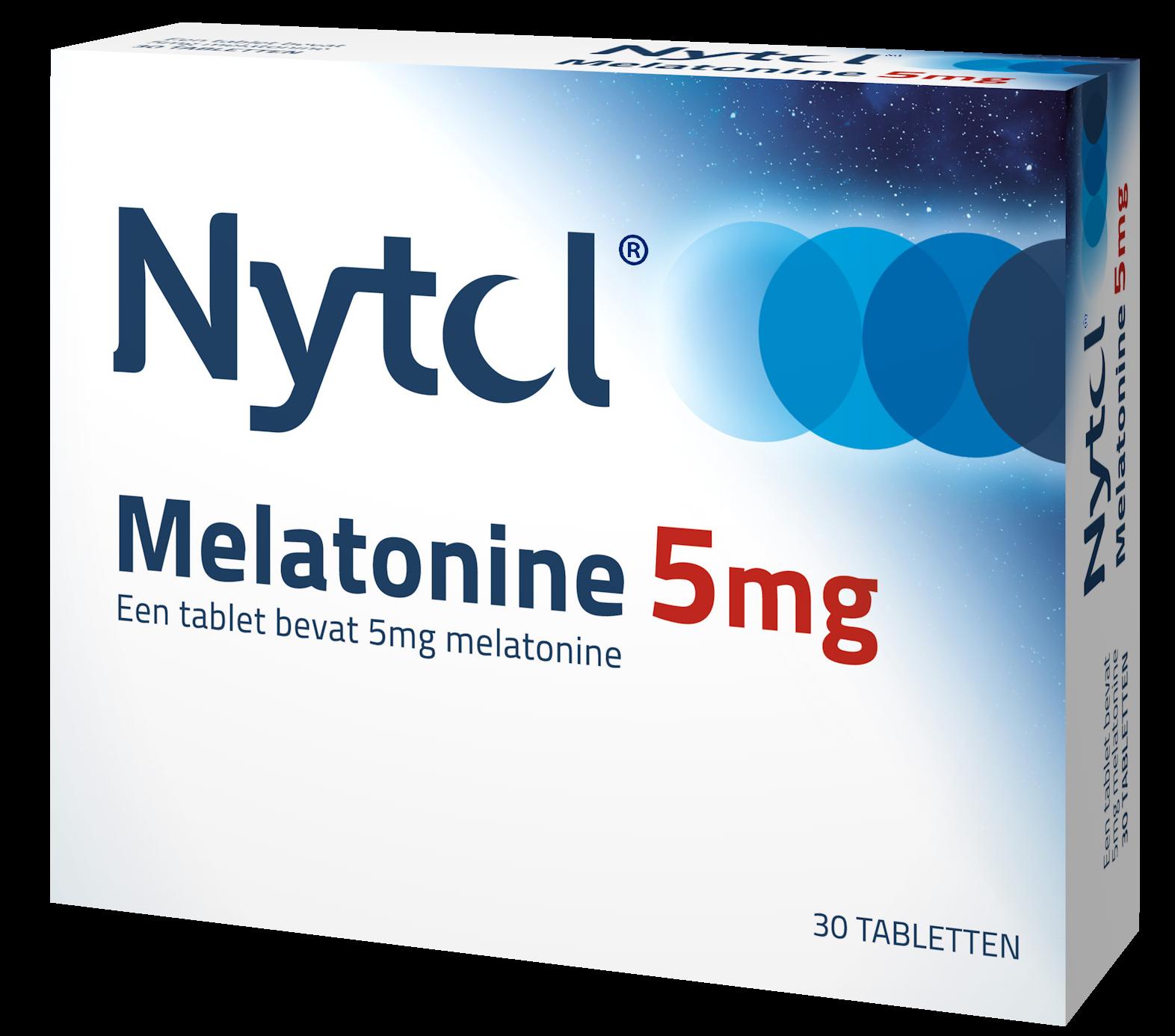 Nytol Melatonine 5mg blister